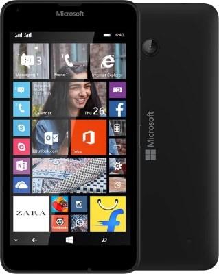 Microsoft Lumia 640 (Black, 8 GB)(1 GB RAM)