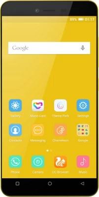 Gionee P5L (Yellow, 16 GB)(1 GB RAM)
