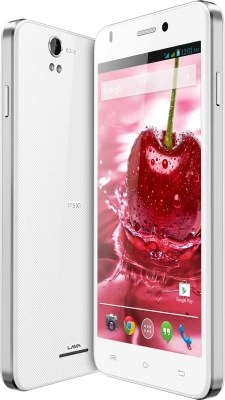 Lava Iris X1 Grand With Flip Cover (White and Silver, 8 GB)(1 GB RAM)