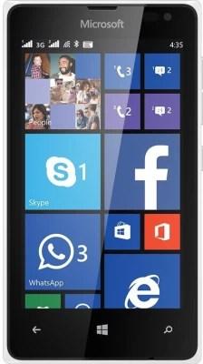 Microsoft Lumia 435 (White, 8 GB)(1 GB RAM)