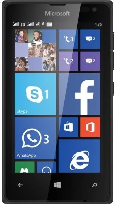 Microsoft Lumia 435 DS (Black, 8 GB)(1 GB RAM)
