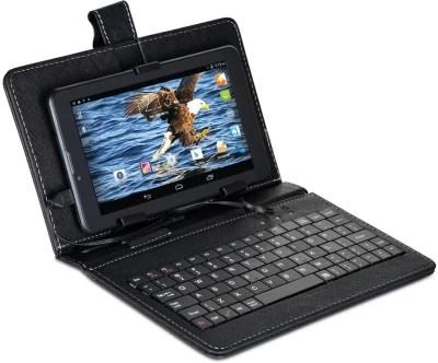 Swipe Swipe Calling Tab With Keyboard 4 GB 7 inch with Wi-Fi+2G(Black)