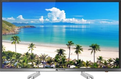 Micromax Canvas 81cm (32) HD Ready LED Smart TV(32 CANVAS-S)