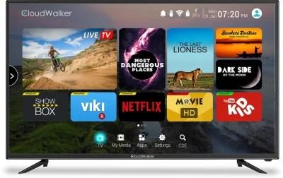 CloudWalker Cloud TV 109cm (43) Ultra HD (4K) LED Smart TV(CLOUD TV 43SU)