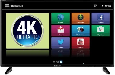 Mitashi 101.6cm (40) Ultra HD (4K) LED Smart TV(MiDE040v03 FS)