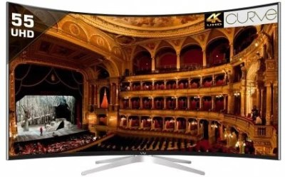 Vu 139cm (55) Ultra HD (4K) Curved LED Smart TV(TL55C1CUS)
