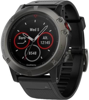 Garmin Fenix 5x Smartwatch(Grey Strap, Regular)