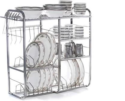 home creations 24 inch wall mount kitchen dish rack utensil kitchen rack