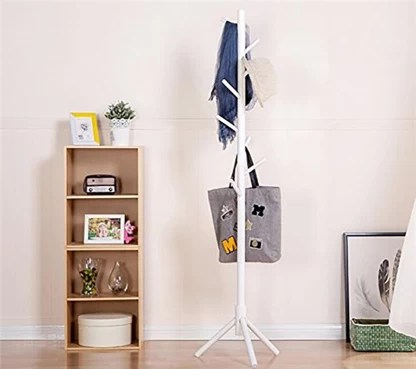 house of quirk coat rack stand for coats solid wood coat and umbrella stand