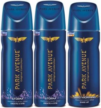 Park Avenue Storm & Good Morning Deodorant Spray - For Men
