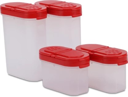 tupperware modular spice shakers 200 ml plastic grocery container