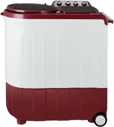Whirlpool 8 Kg Semi Automatic Top Load Red, White