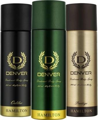 Denver Hamilton, Prestige and Caliber Combo Deodorant Spray - For Men