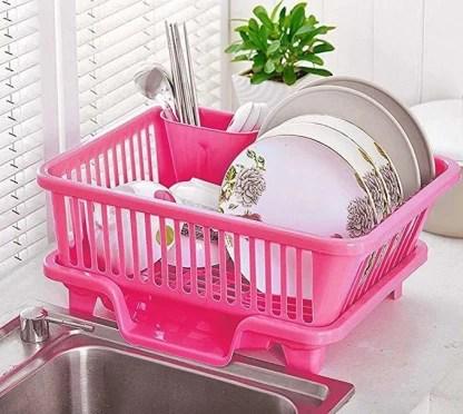zeom 3 in 1 plastic kitchen sink dish drying rack sink dish drainer dish drainer kitchen rack