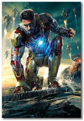 iron man art poster avengers poster