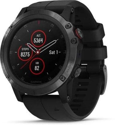 Garmin Fenix 5X Plus Smartwatch(Black Strap, Regular)