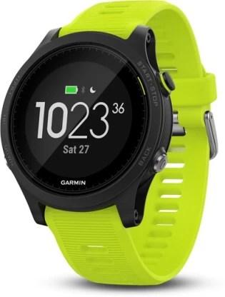 Garmin Forerunner 935 Smartwatch(Green Strap, Regular)