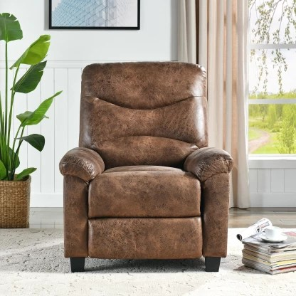Bantia Venice Recliner Leatherette Manual Recliner
