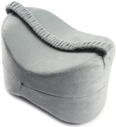 aegon sciatica nerve pain relief memory foam knee wedge pillow for back abdomen hip knee calf thigh support