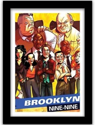 brooklyn nine nine tv series wall