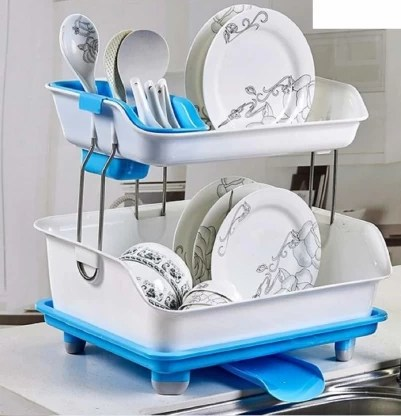 arstore layer sink dish plate drainer drying rack wash organizer with tray utensil holder basket maticolour dish drainer kitchen rack