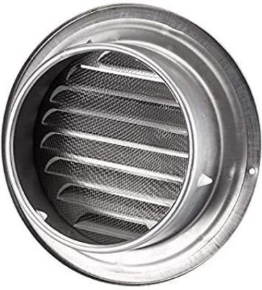 fabers steel cowl vent round stainless