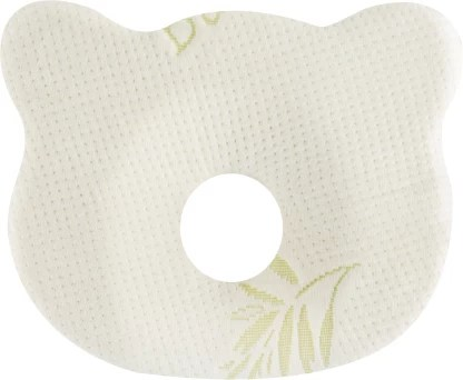the white willow infant head shaping memory foam nature baby pillow pack of 1
