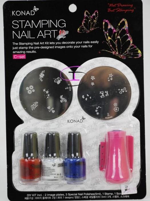 Konad Sting Nail Art Kit Set C