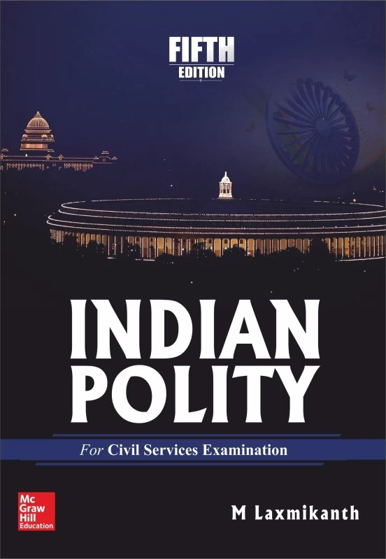 Indian Polity 5 Edition(English, Paperback, M. Laxmikanth)