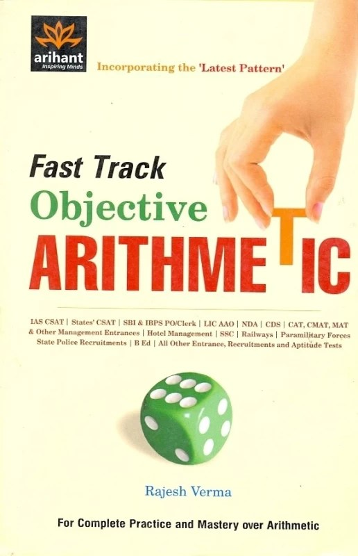 Fast Track Objective Arithmetic 2012 Edition(English, Paperback, Rajesh Verma)