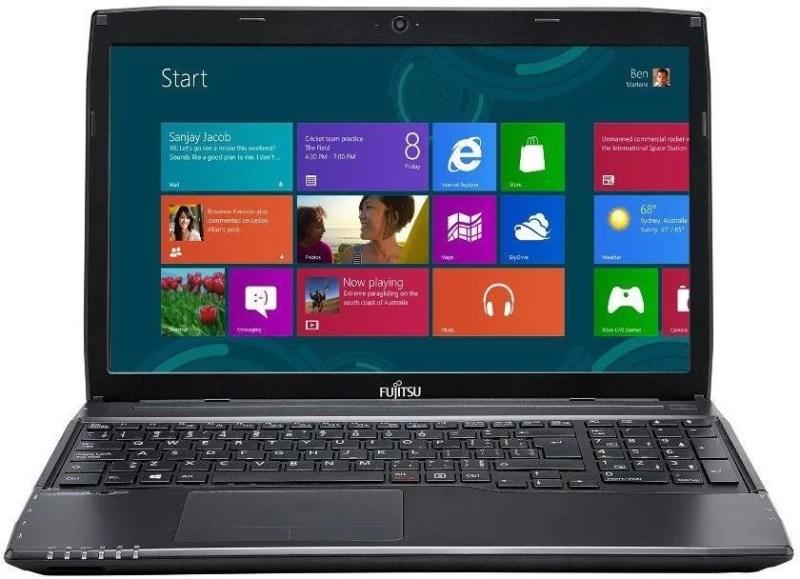 Fujitsu Lifebook Core i3 5th Gen - (8 GB/1 TB HDD/DOS) A555 Laptop(15.6 inch, Black, 2.4 kg)
