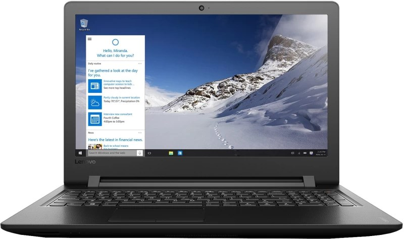 Lenovo Core i3 6th Gen - (4 GB/1 TB HDD/Windows 10 Home) Ideapad 110 Laptop(15.6 inch, Black, 2.2 kg)