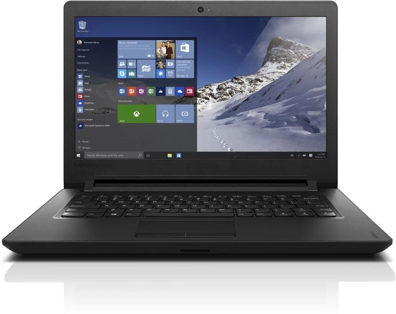 Lenovo Ideapad 100 Pentium Quad Core 4th Gen - (4 GB/500 GB HDD/DOS) IP 110-14IBR Laptop(14 inch, Black, 1.6 kg)