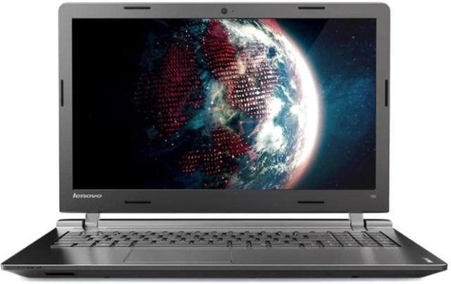 Lenovo IdeaPad 100 Pentium Quad Core 4th Gen - (4 GB/500 GB HDD/DOS) 100-15IBY Laptop(15.6 inch, Black Texture, 2 kg)