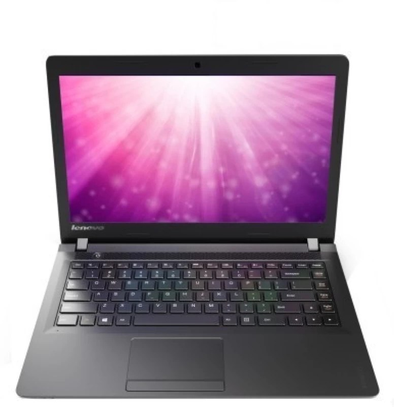 Lenovo Ideapad 100 Pentium Quad Core 4th Gen - (4 GB/500 GB HDD/DOS) 100-14IBY Laptop(14 inch, Black, 1.6 kg)
