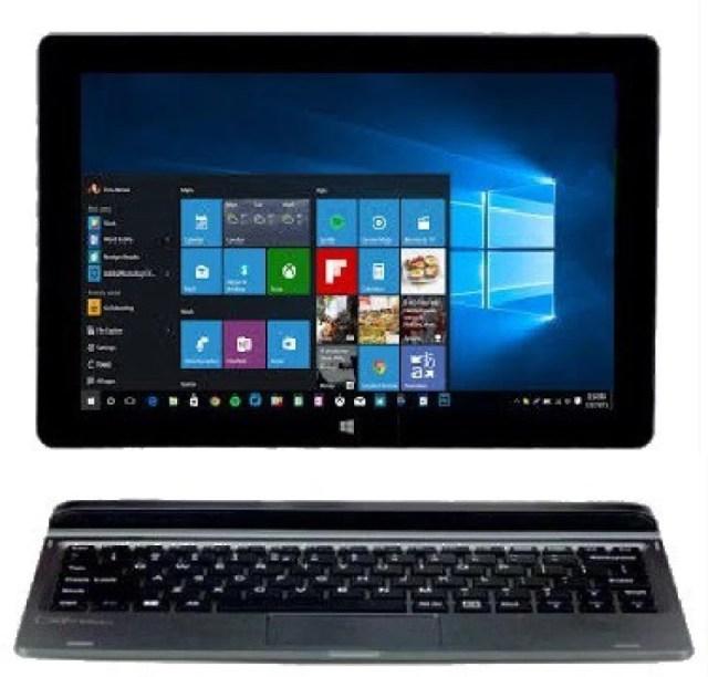 Micromax Canvas Wi-Fi Atom - (2 GB/32 GB EMMC Storage/Windows 10 Home) LT666W 2 in 1 Laptop(10.1 inch, Grey)