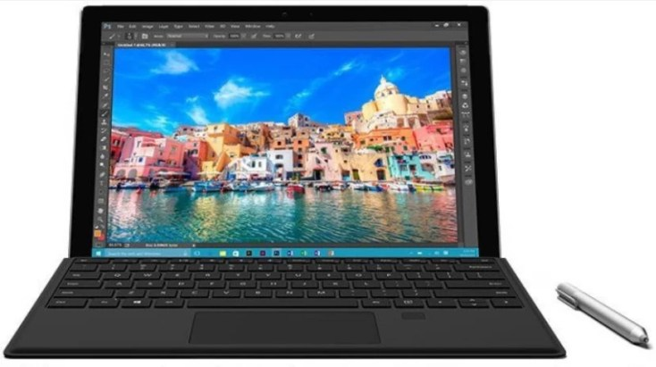 Microsoft Surface Core m3 6th Gen - (4 GB/128 GB SSD/Windows 10 Pro) Pro 4 2 in 1 Laptop(12.3 Inch, Silver, 0.78 kg)