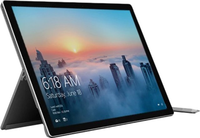 Microsoft Surface Pro 4 Core i5 6th Gen - (4 GB/128 GB SSD/Windows 10 Pro) 1724 2 in 1 Laptop(12.3 Inch, Silver, 0.78 kg)