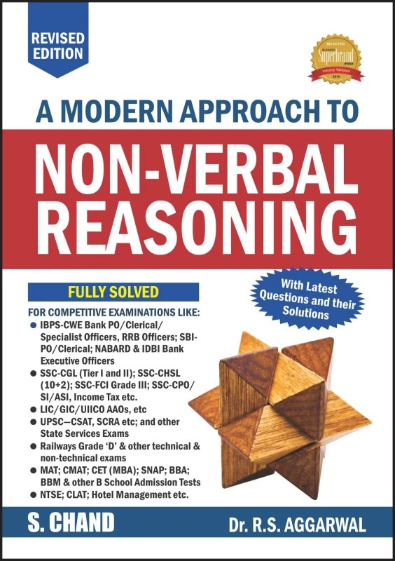 Modern Approach to Non Verbal Reasoning(English, Paperback, R.S. Aggarwal)