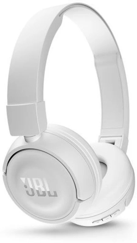 JBL T450BT Wireless Headset with Mic(White, Over the Ear)