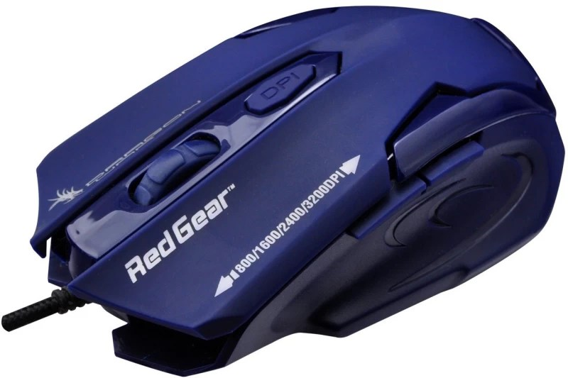 Dragon War ELE-G11 Wired Laser Gaming Mouse(USB, Dark Blue)