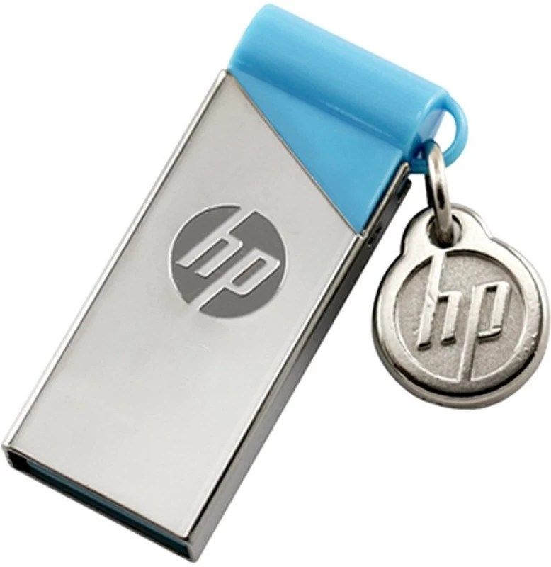 HP V215B 16 GB Pen Drive(Silver)