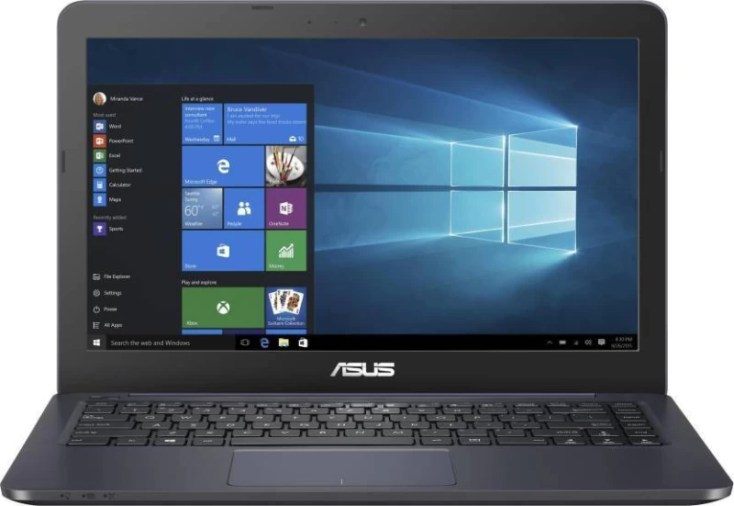 Asus EEEBOOK N3060 Celeron Dual Core 4th Gen - (2 GB/32 GB EMMC Storage/Windows 10) E402SA-WX227T Laptop(14.0 inch, Dark Blue, 1.65 kg)