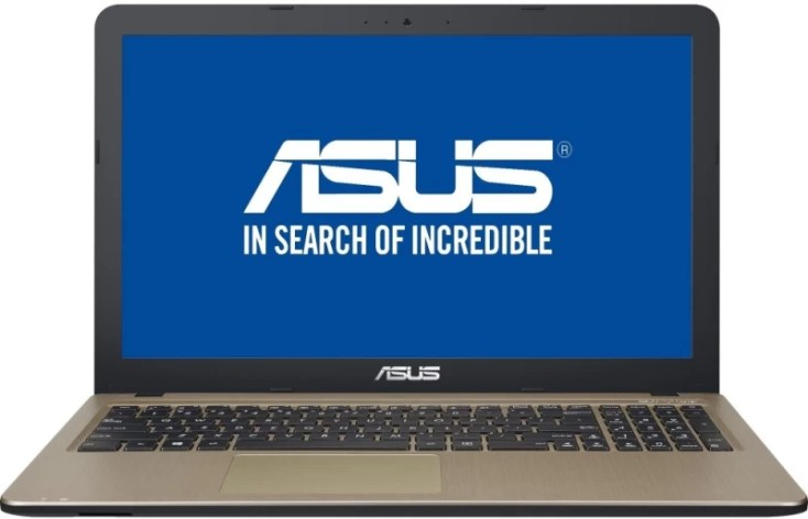 Asus X Series Celeron Dual Core 6th Gen - (4 GB/500 GB HDD/DOS) X540SA-XX311D Laptop(15.6 inch, Chocolate Black IMR With Hairline, 1.9 kg)