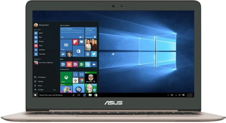 Asus Zenbook Core i5 7th Gen - (4 GB/1 TB HDD/128 GB SSD/Windows 10/2 GB Graphics) UX310UQ-GL477TUX310U Thin and Light Laptop(13.3 inch, Rubedo Gold, 1.4 kg)