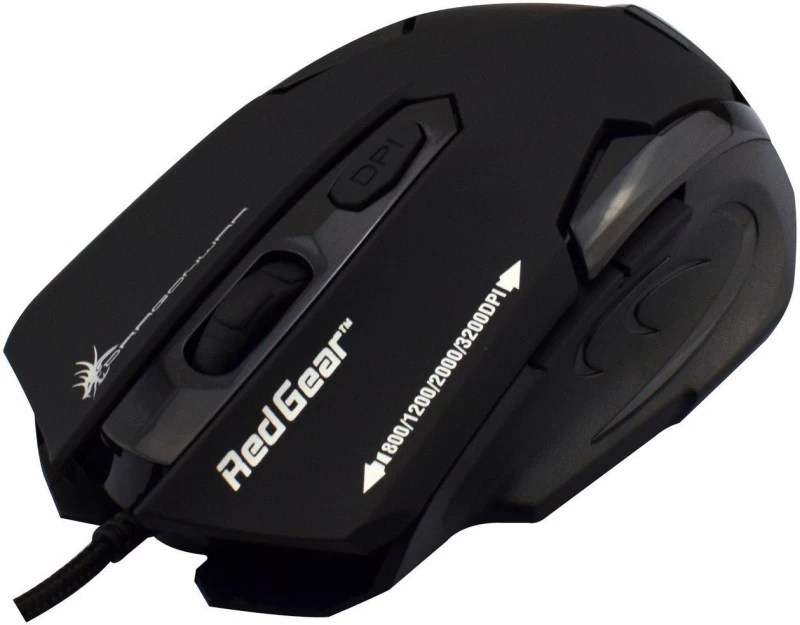 Dragon War ELE-G11 Wired Laser Gaming Mouse(USB, Black)