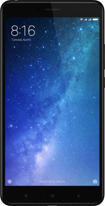 Mi Max 2 (Black, 64 GB)(4 GB RAM)