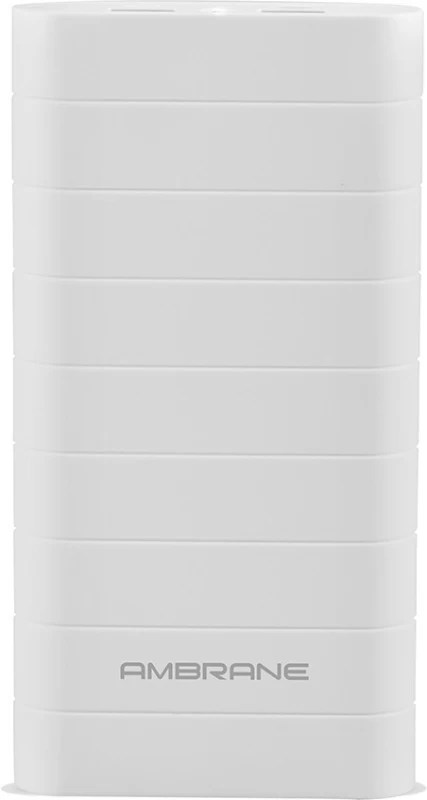 Ambrane Speedy S8 20000 mAh Power Bank(White, Lithium-ion)