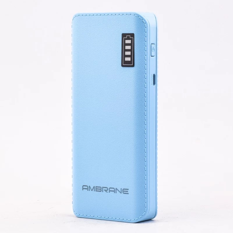 Ambrane P-1133 12500 mAh Power Bank(Blue, Lithium-ion)