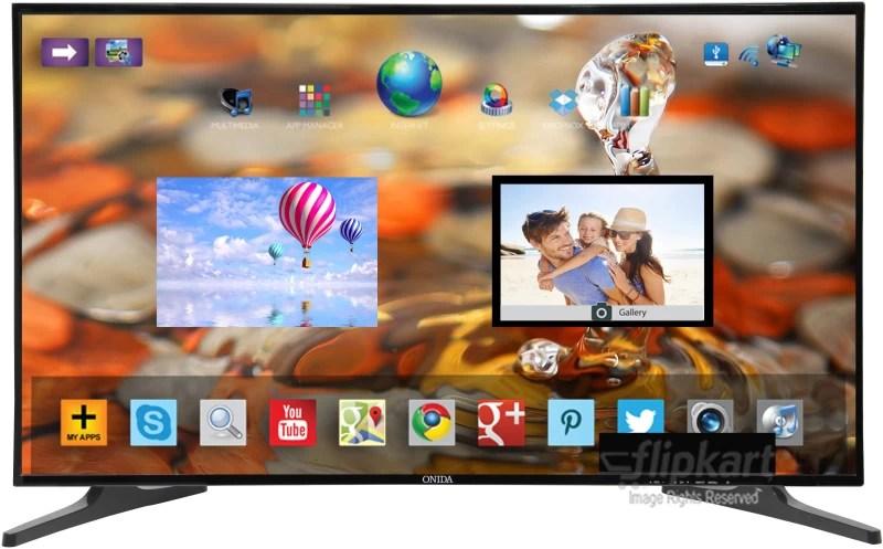 Onida 109.22cm (43 inch) Full HD LED Smart TV(43 FIS)